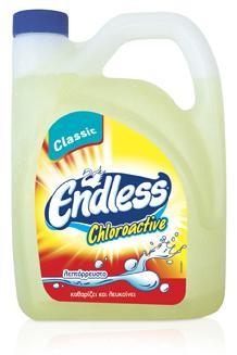 Υγρό με χλώριο Endless Chloroactive 4L