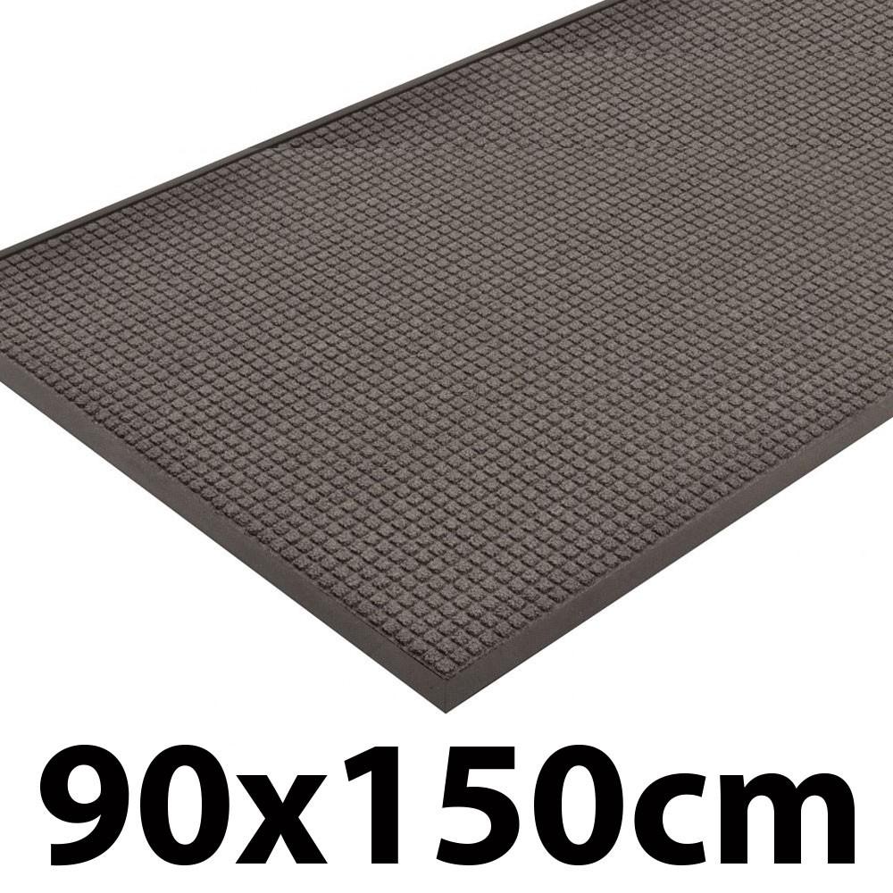 Πατάκι εισόδου σκληρής μοκέτας NoTrax 166 Guzzler Entrance Mat 90x150cm - Ανθρακί