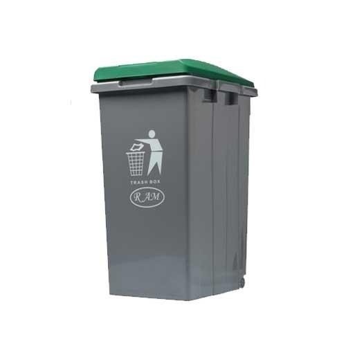 Κάδος απορριμμάτων - ανακύκλωσης Ram 45lt Πράσινο