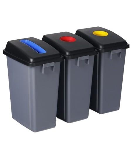 Σετ κάδων ανακύκλωσης Ram 3x60lt 5427332