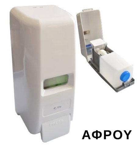 Πλαστική σαπουνοθήκη αφρού 6001122 1000ml Ram white