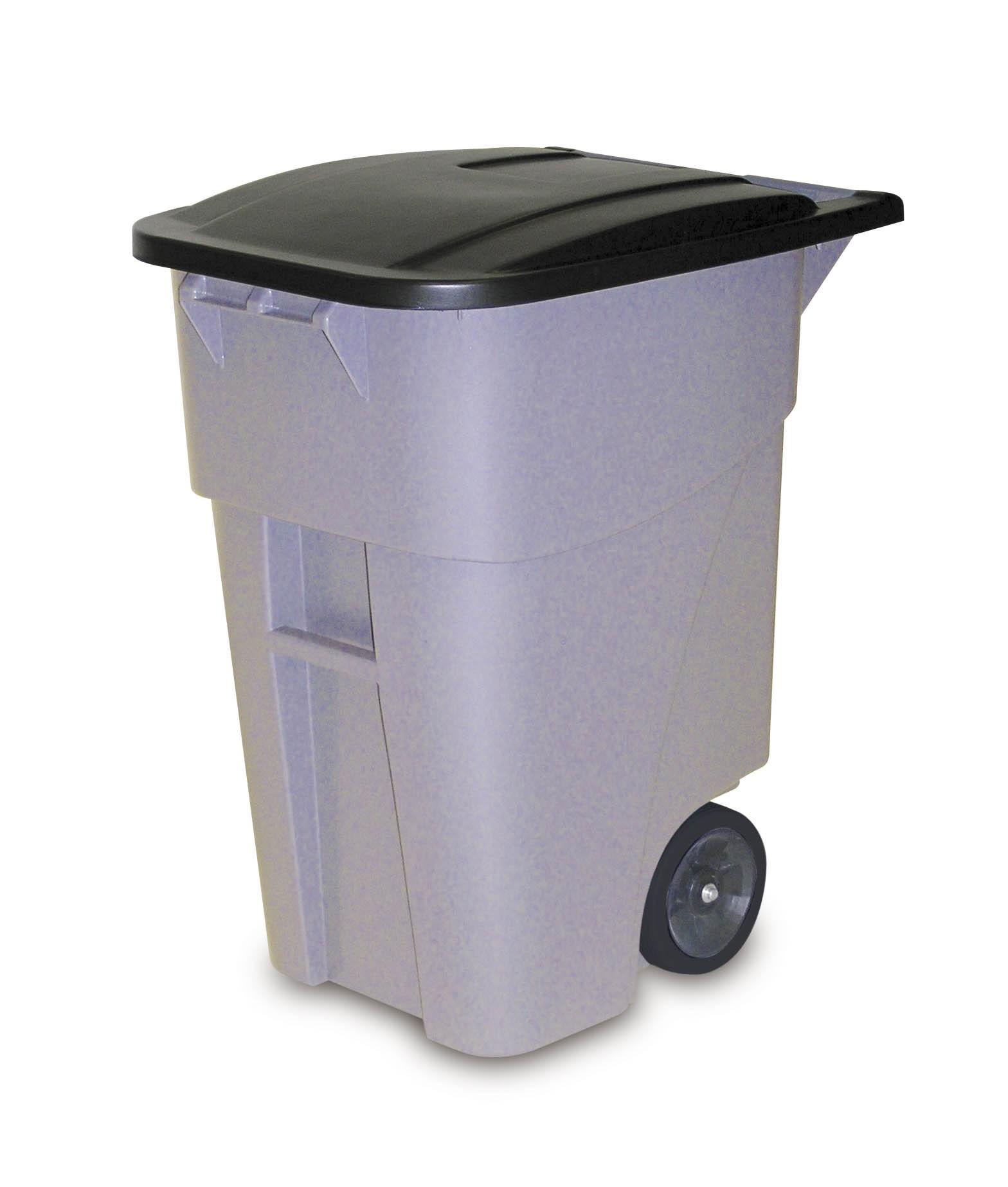 Πλαστικός κάδος απορριμάτων με ρόδες Brutel® 189lt