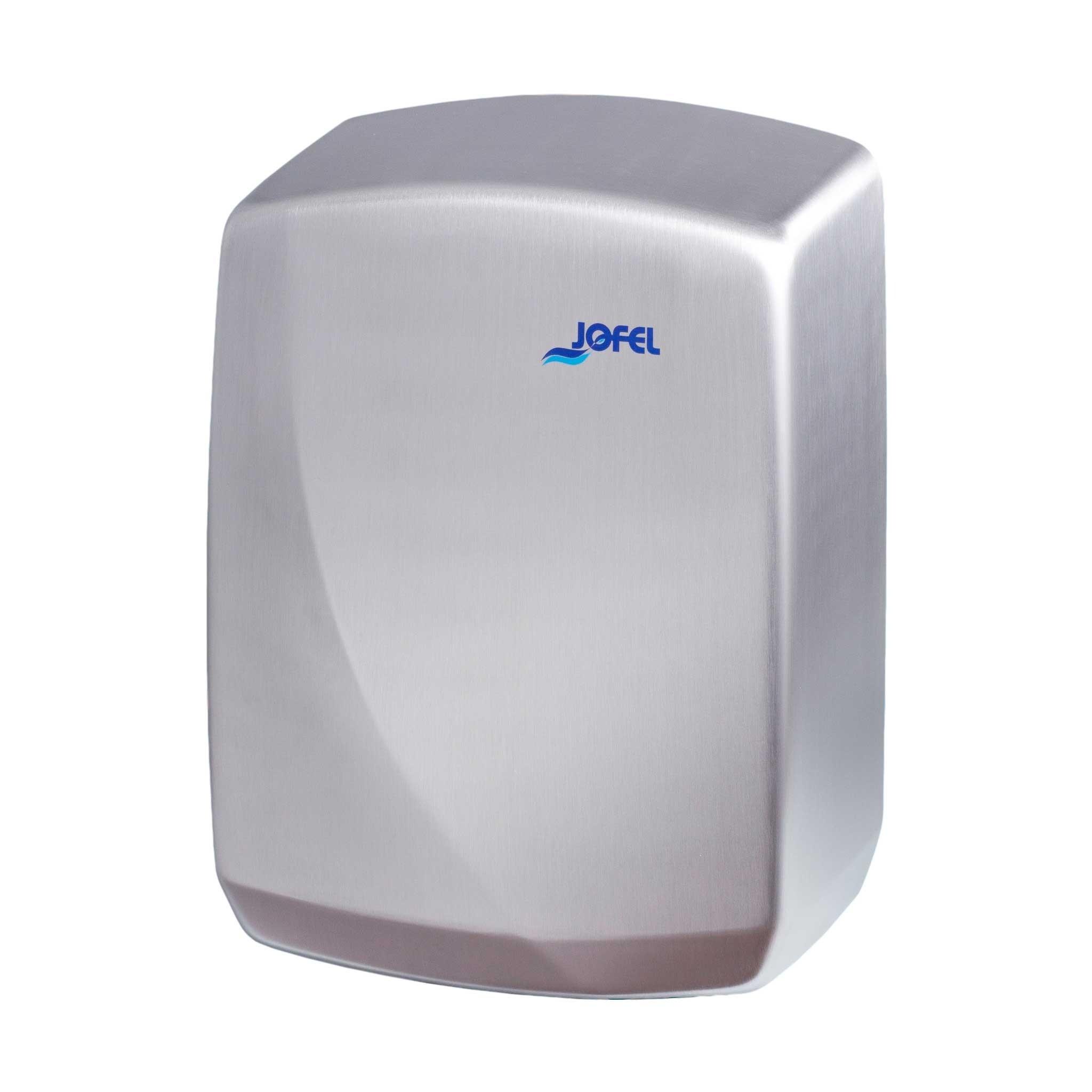 Μεταλλικός στεγνωτήρας χεριών Jofel Futura Satin inox AA16500