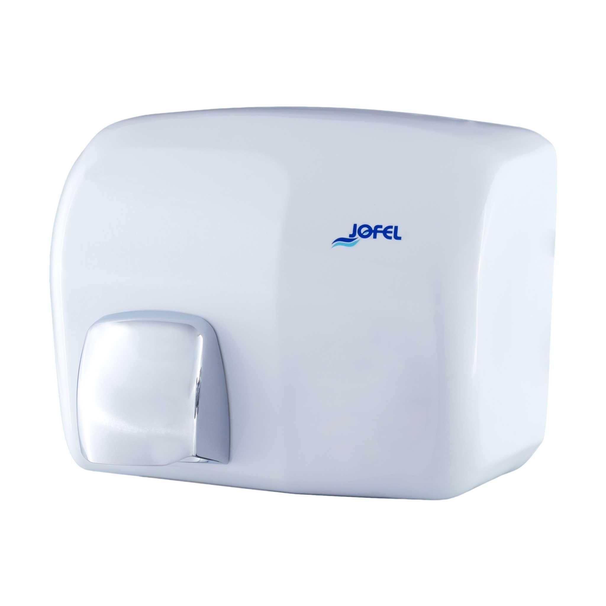 Μεταλλικός στεγνωτήρας χεριών Jofel Iberto white AA94000
