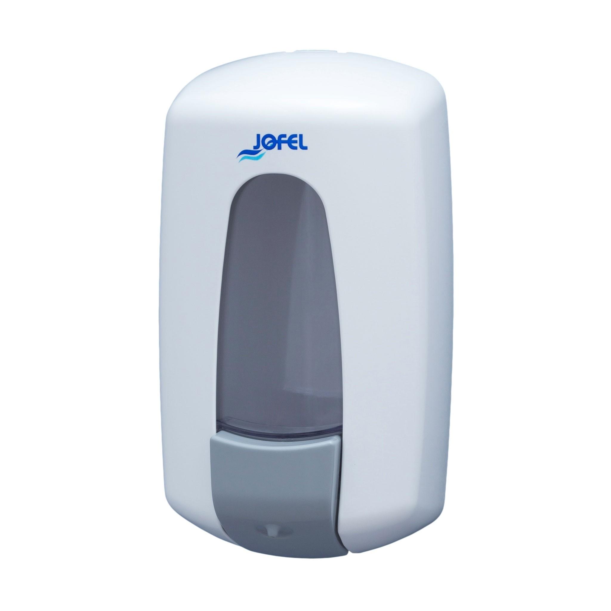 Πλαστική σαπουνοθήκη Jofel Aitana white AC70000