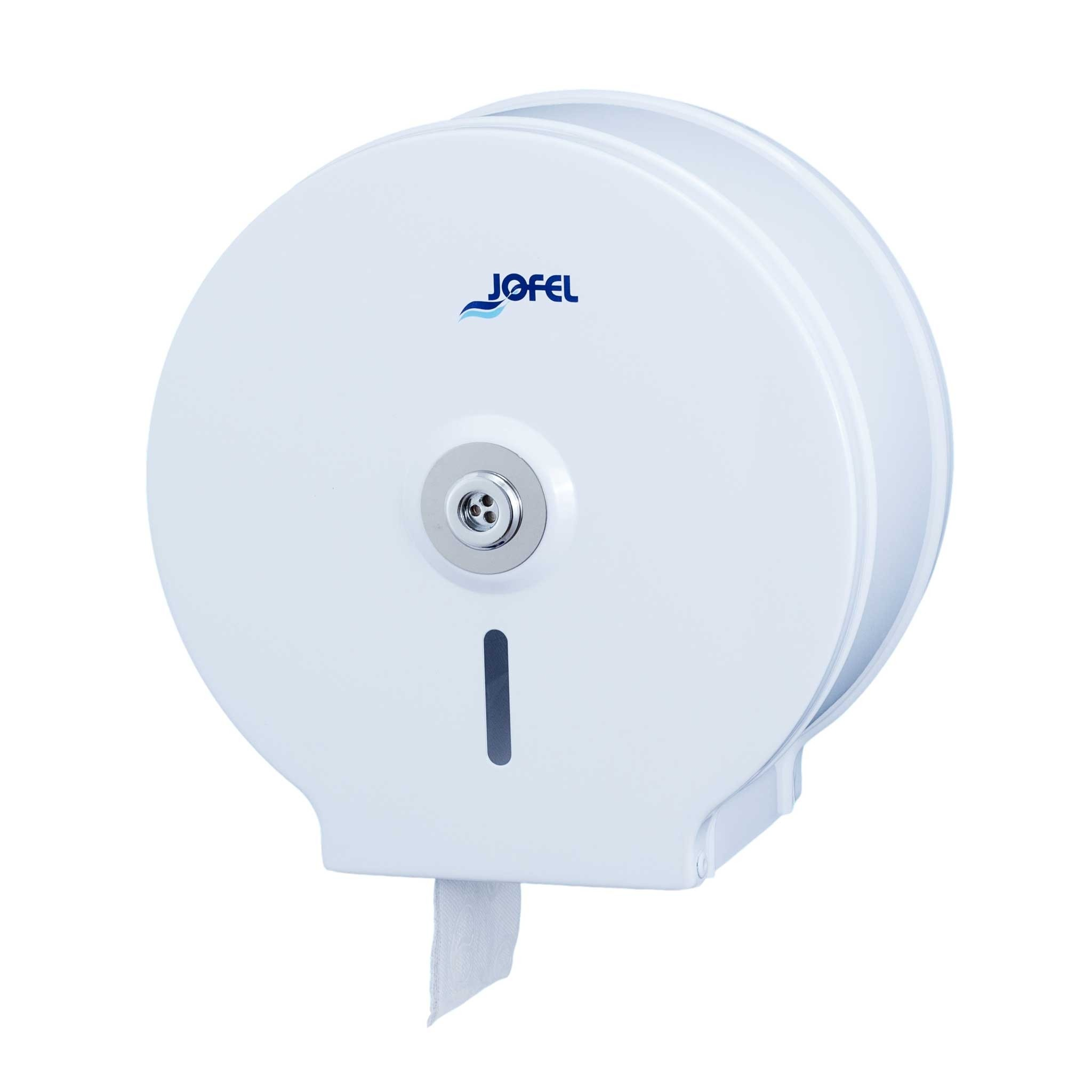 Μεταλλική θήκη χαρτιού υγείας Jofel Clasica white AE12400