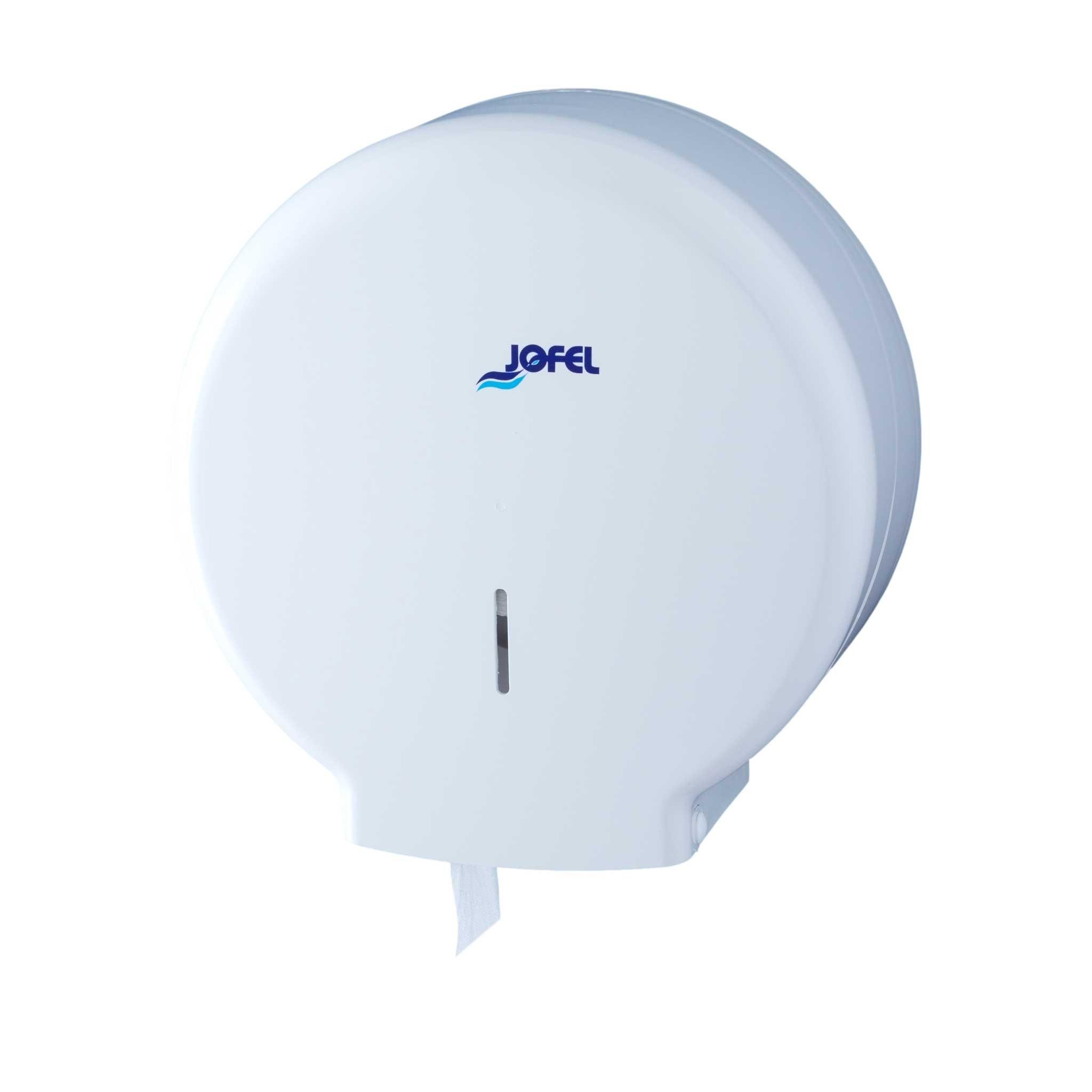 Πλαστική θήκη χαρτιού υγείας Jumbo Jofel Azur white AE51000
