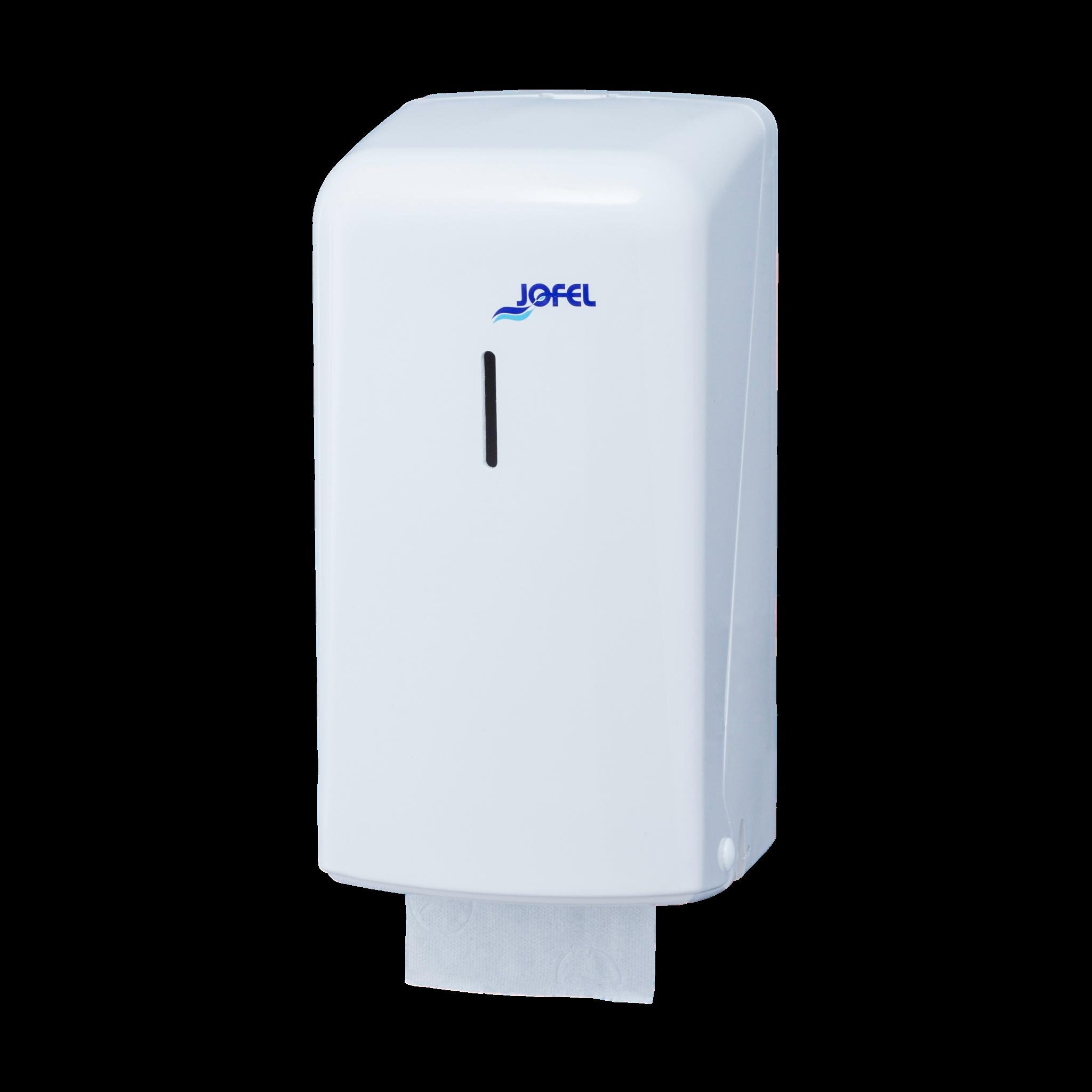 Πλαστική θήκη οικιακών ρολών υγείας Jofel Azur white AF50000