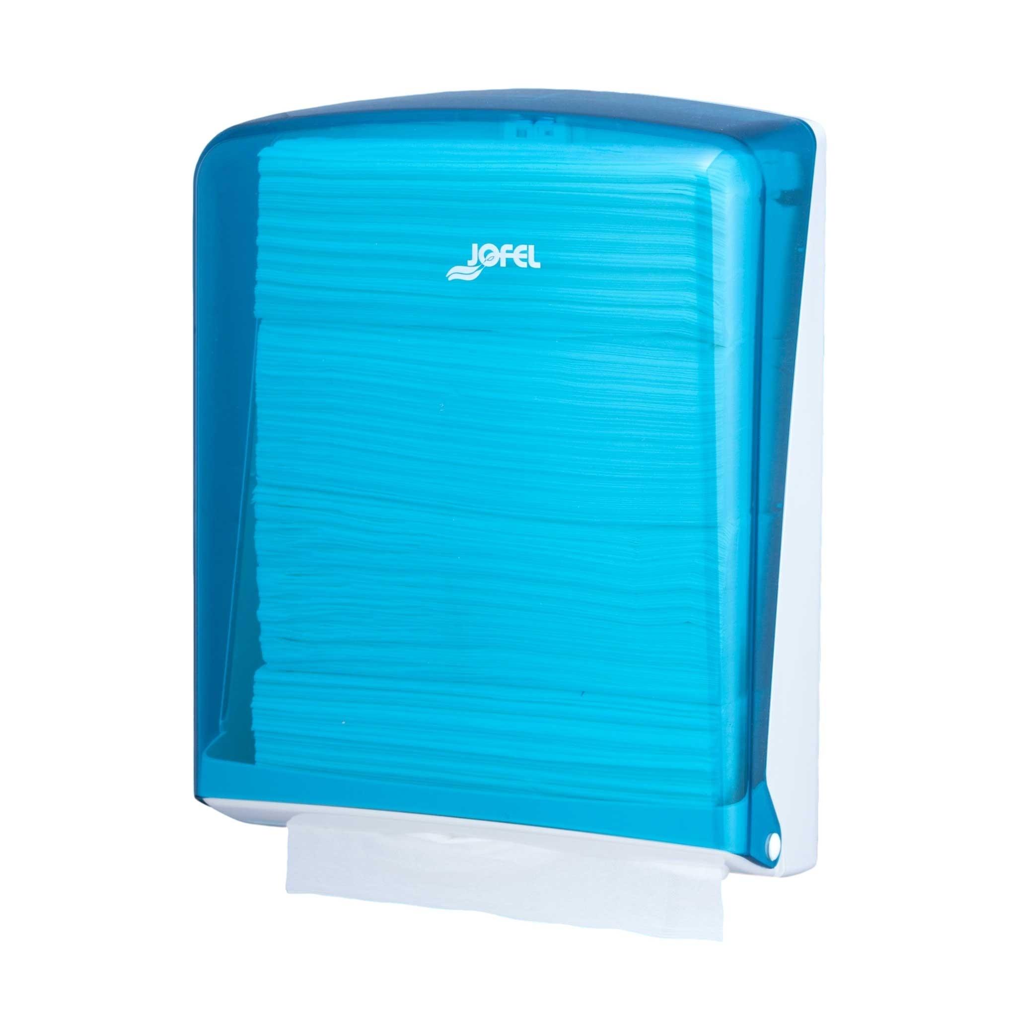 Πλαστική θήκη χειροπετσέτας ΖικΖακ Jofel Azur blue AH34200