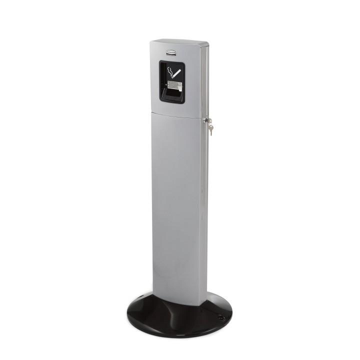 Σταχτοδοχείο δαπέδου Rubbermaid Metropolitan Smoker's Station Silver