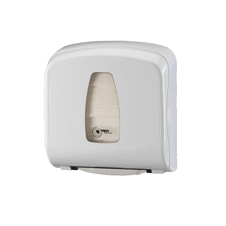Πλαστική θήκη χειροπετσέτας ΖικΖακ Mars 065 White