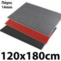 Λαστιχένιο πατάκι καθαρισμού Μακαρόνι Notrax 266 Wayfarer 14mm 120x180cm