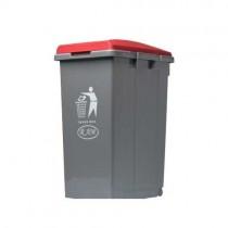 Κάδος απορριμμάτων - ανακύκλωσης Ram 45lt Κόκκινο