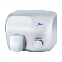 Μεταλλικός στεγνωτήρας χεριών Jofel Iberto Shiny AA91000
