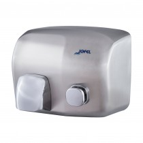 Μεταλλικός στεγνωτήρας χεριών Jofel Iberto Satin inox AA91500