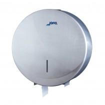 Μεταλλική θήκη χαρτιού υγείας Jumbo Jofel Futura Satin inox AE25000