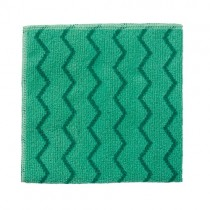 Πανί καθαρισμού Rubbermaid Hygen Microfibre Πράσινο