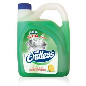 Υγρό πιάτων Endless Ultra Lemon 4L