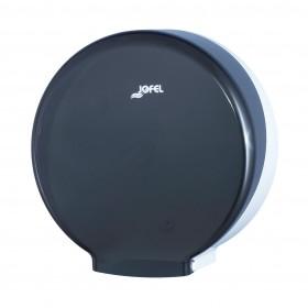 Πλαστική θήκη χαρτιού υγείας Jumbo Jofel Azur black AE52400