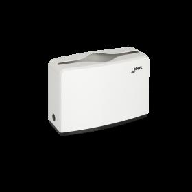 Πλαστική επιτραπέζια θήκη χειροπετσέτας ΖικΖακ Jofel White AH52000