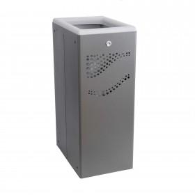 Μεταλλικός κάδος ανακύκλωσης Jofel 40lt AL707050 Γκρι