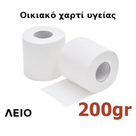 Χαρτί υγείας οικιακό Λείο 200gr 30 ρολά Κωδ.722