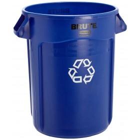 Στρογγυλός κάδος ανακύκλωσης BRUTE Round από