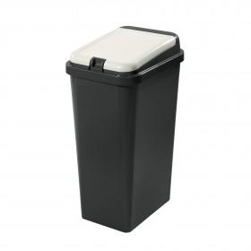Πλαστικός κάδος ανακύκλωσης Tontarelli Bido 45lt Λευκό